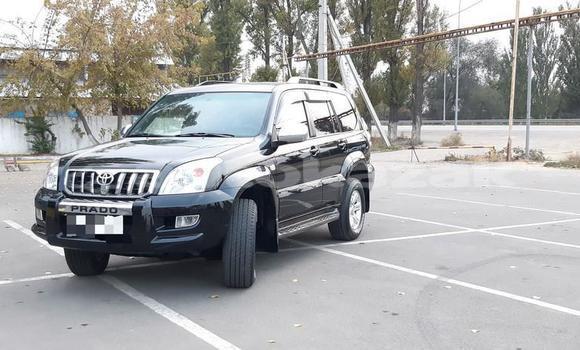 Buy Used Toyota Land Cruiser Prado Black Car in Almaty in Almati