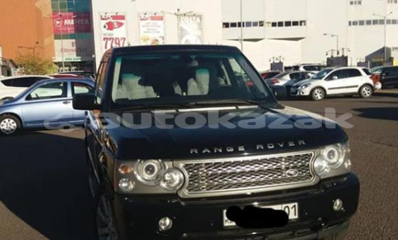 Buy Used Land Rover Range Rover Black Car in Astana in Akmola