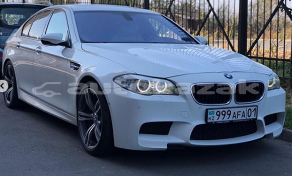 Buy Used BMW 5–Series White Car in Astana in Akmola
