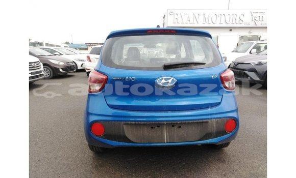 Buy Import Hyundai i10 Blue Car in Import - Dubai in Akmecet