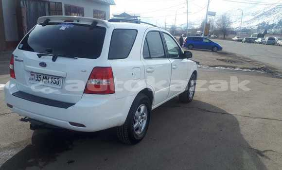 Buy Used Kia Sorento White Car in Talgar in Almati